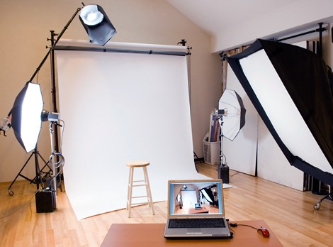 How To Install A Photo Studio At Home Photography